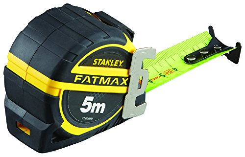 STANLEY FATMAX XTHT0-36003 - Flexómetro Blade Armor 5 m x 32 mm