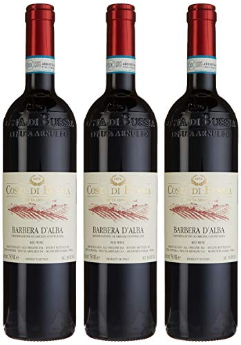 Costa di Bussia Barbera d'Alba, 3er Pack (3 x 750 ml)