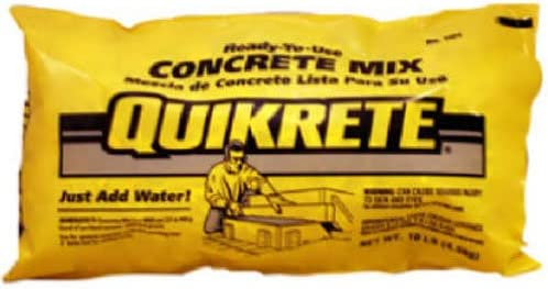 QUIKRETE 110110 Quality inspection Concrete 10LB Dallas Mall Mix