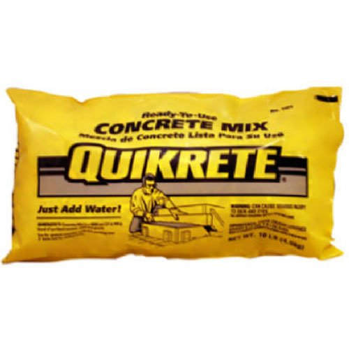 QUIKRETE 110110 Concrete Mix 10LB
