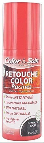 Les 3 Chênes Color et Soin Retouche Color Racines Spray 75 ml - Noir