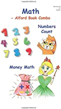 MATH -6X9 B&W -Alford Book Combo: Numbers Counts - 0 to 9 and Money Math