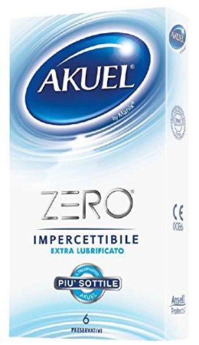 Akuel ZERO - de dunste conserveringsmiddelen van de Akuel-serie, 6 stuks