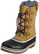 Sorel Youth Joan Of Arctic Knit Boot Curry 4