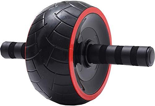 ZLYDGL Ab Roller Rad, Weit Rad Bauch Roller, Bauchtrainer Core Training Exercise Roller mit weichem Griff, Bauchmuskeln Bodybuilding Fitnessgeräte for Home Gym