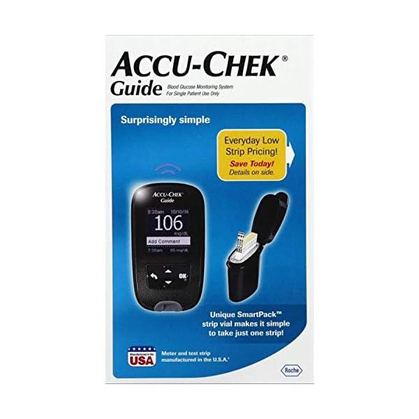buy  Accu-Chek Guide Blood Glucose Monitoring System ... Blood Glucose Monitors
