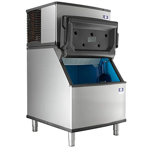 "Manitowoc IYT0450A Ice Cube Machine, Half-Dice, Air Cooled w/ D400 Storage Bin, 30"", 450 lbs/day, 115v/60hz"