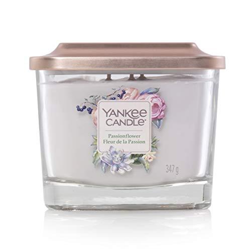 Yankee Candle Passionflower Kerzen, Glas, weiß, medium