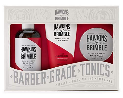 Hawkins & ☛ Brimble Root to Tip Ensemble cadeau pour le visage, le corps et l'argile mate
