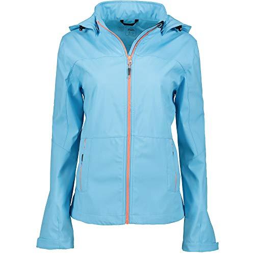 McKINLEY Damen Softshelljacke Everest blau (296) 38