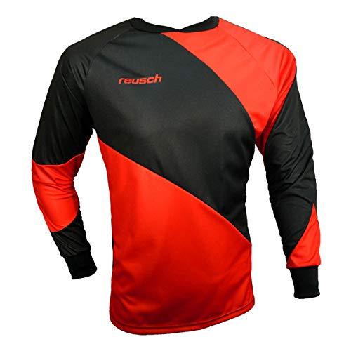 Reusch Prisma Long Sleeve Goalkeeper Jersey, Red/Black, Adult Medium