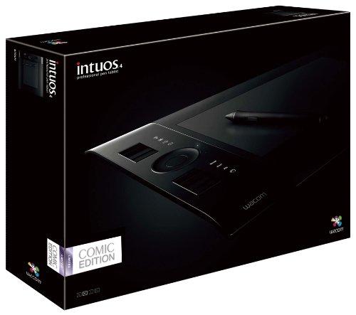 Wacom Intuos4 Comic Edition コミスタPro(Win)、イラスタ(Win)付属モデル Mサイズ Intuos4 PTK-640/K5