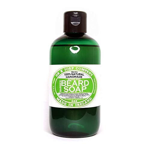 """DR K Soap Company, sapone per """"barba Woodland Spice Barber"""", 250 ml"""