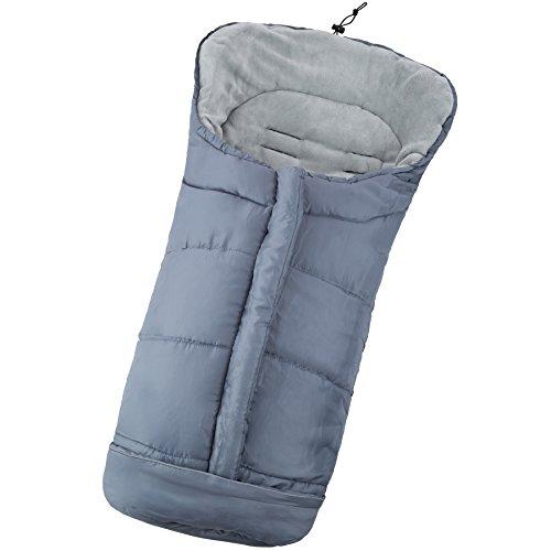 TecTake Saco de invierno dormir térmico para carrito silla