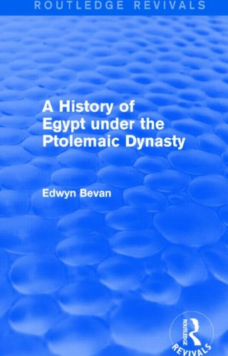 A History of Egypt under the Ptolemaic Dynasty (Routledge Revivals)