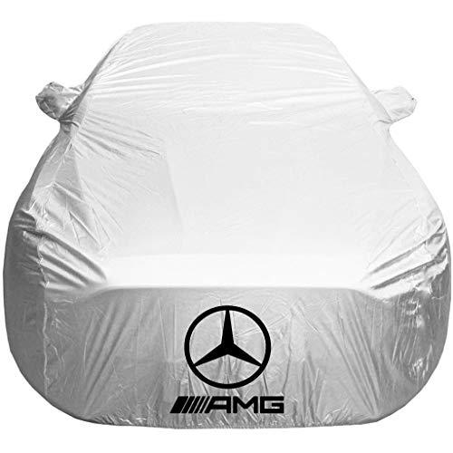 ZMQWE Cubierta para Coche Compatible con Mercedes AMG CLS,SLC,SLS,SLK Cubierta de Coche Impermeable