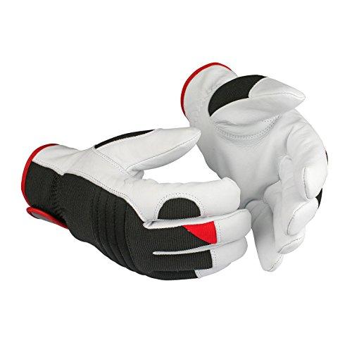 POWERHAUS24 Guide 49 Kälte- und Nässeschutz-Handschuhe aus Ziegennarbenleder mit Handschuhberater-9