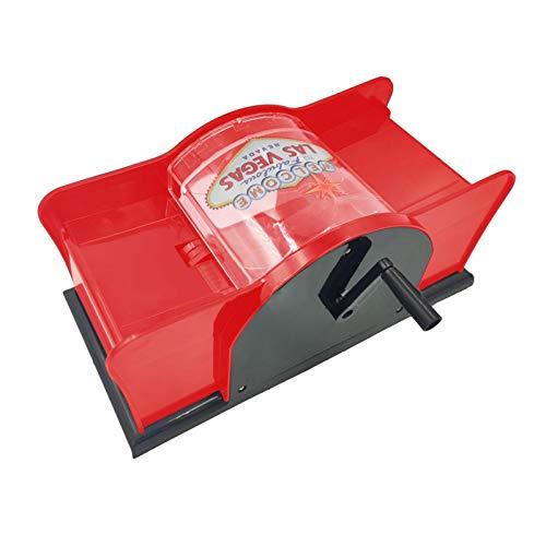 Kartenmischmaschine 2 Decks Elektrische Mischmaschine Als Kartenmischgerät Batteriebetrieben Zum Mischen Von Karten Beim Pokern Handbetätigter Spielkarten-Shuffler