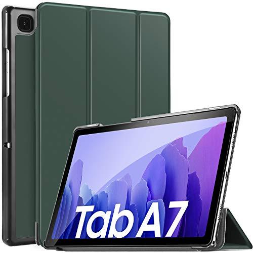 IVSO Funda Compatible con Samsung Galaxy Tab A7 10.4 2020, Compatible con Samsung Galaxy Tab A7 2020 Funda, Funda Case Compatible con Samsung Galaxy Tab A7 T505/T500/T507 10.4 2020, Dark Green