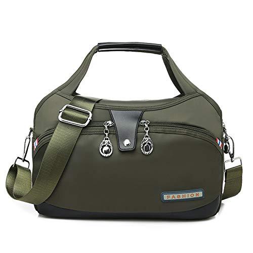 CMZ Backpack Fashion Oxford Cloth Large Capacity Shoulder Bag Ladies Casual Light Outdoor Travel Portable Crossbody Bag