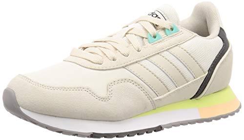 Adidas 8K 2020, Zapatillas para Correr Mujer, Chalk White/Alumina/FTWR White, 38 EU
