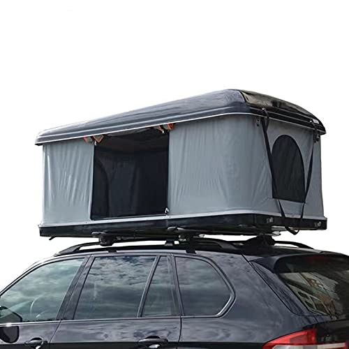 NUFR Roof Top Tent Hard Shell Rooftop Tent Universal Cars Trucks SUV Camping,Pop Up Roof Tent with...