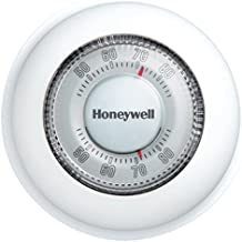 Honeywell T87K1007 Heat Only Thermostat, 1 Pack, White