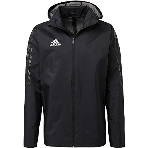 adidas Herren Tiro 17 Storm Jacke, Black/White, L