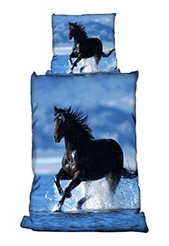 Bertels Biancheria da Letto, Motivo: Cavallo in Acqua