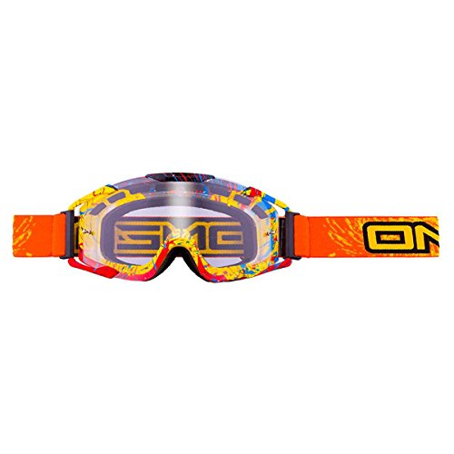 Oneal B2 Spray MX-Brille, Farbe Orange, Größe One Size