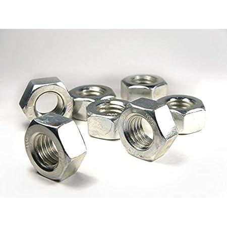 Sechskantmuttern 6-kant Muttern ISO 4032 ISO-Typ 1 Güte 8 Stahl galv.verzinkt