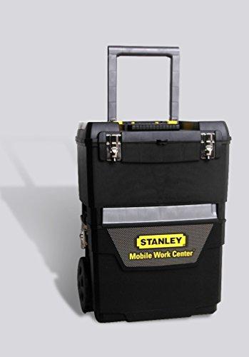 Stanley 1-93-968 | 2-in-1 Gereedschapswagen | Met uitneembare gereedschapsbak | Telescopische handgreep