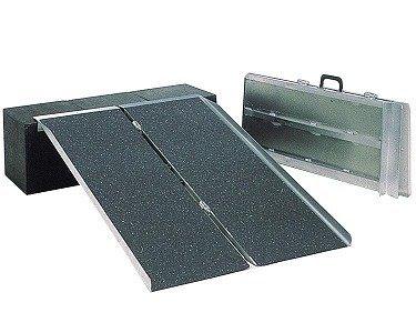 ポータブルスロープ PVSシリーズ(アルミ2折式タイプ) PVS150 長さ1.5m/