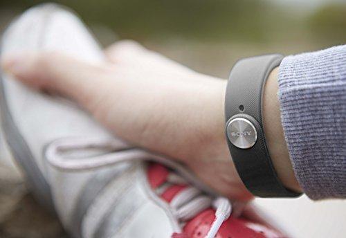 Sony Mobile SWR10 SmartBand Aktivitätstracker Schlaftracker Fitness Tracker – Schwarz - 5