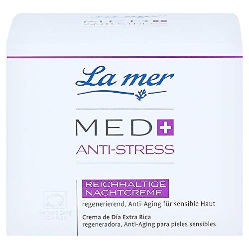 La mer Med+ Anti-Stress Reichhaltige Nachtcreme 50 ml ohne Parfum