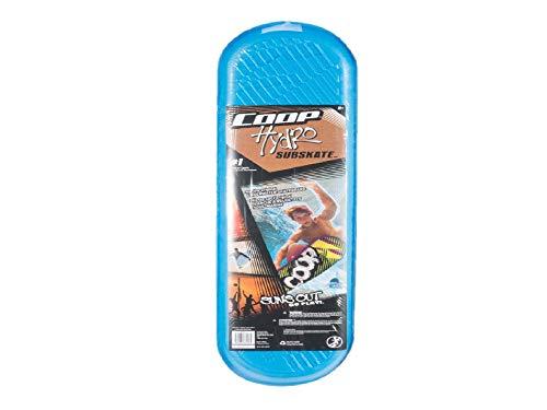Coop Hydro Subskate Underwater Skateboard - Aqua, Blue, White, and Orange
