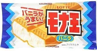 ロッテ モナ王 バニラ 160ml×20袋 【冷凍】(2ケース)