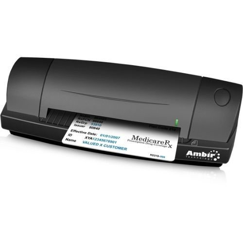 Learn More About AMBIR Technology Ambir DS687 Sheetfed Scanner - 48-bit Color - 8-bit Grayscale - US...