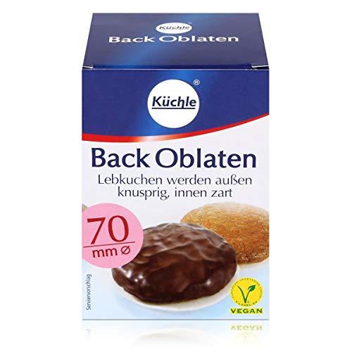 Backoblaten / Oblaten (70 mm / 100 Stück) VEGAN