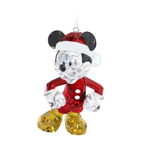 SWAROVSKI Disney Mickey Mouse Christmas Ornament Figurine
