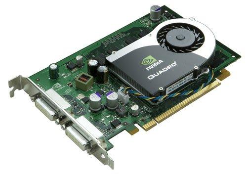 PNY Quadro FX 570, GDDR2–Grafikkarten (GDDR2), 128Bit, 2560x 1600Pixel, PCI Express x16