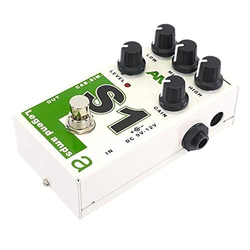 AMT S1 - Preamplificador para guitarra (1 canal, JFET, con cab.Sim (Soldano Emulate)