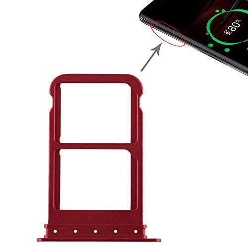 XYL-Q Cato Slot SIM-Karten-Behälter + SIM-Karten-Behälter for Huawei Mate-RS Porsche Design (schwarz) (Color : Red)