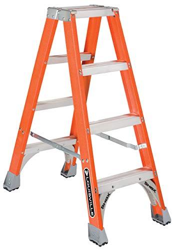 Louisville Ladder FM1504 Twin Stepladder, 4-Feet