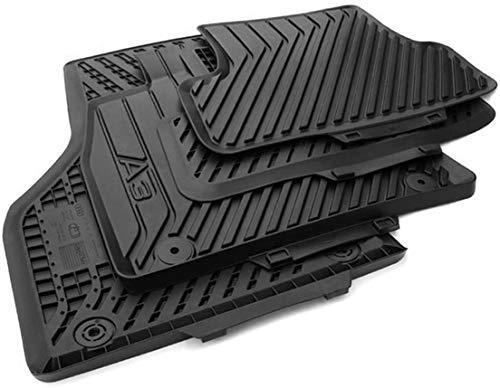 Original Audi Gummimatten Original Qualität Fußmatten Gummi schwarz 4-teilig