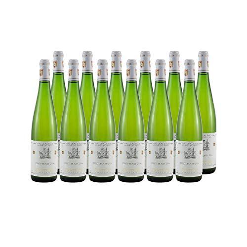 Alsace Pinot Blanc Weißwein 2006 - Domaine Kientzler - g.U. - Elsass Frankreich - Rebsorte Pinot Blanc - 12x75cl