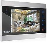 TMEZON Videoportero con sistema de intercomunicación, monitor 1080P de 7 pulgadas, solo funciona con timbre de puerta de 1080p