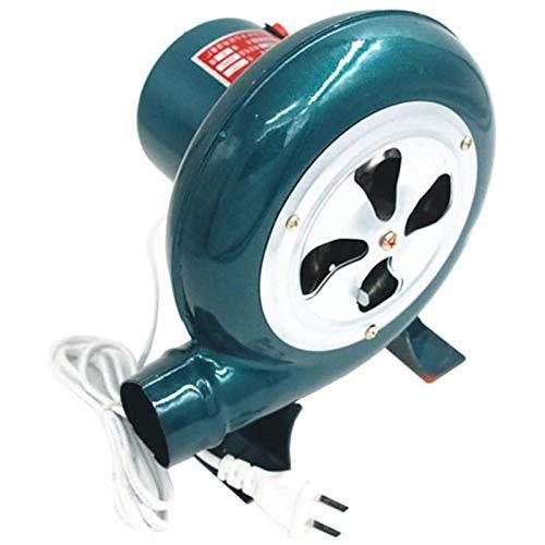Blowers Soplador Eléctrico de Velocidad Variable de 220 V con Interruptor Soplador de Barbacoas Soplador de Forja de Carbón para Barbacoa Ventilador de Chimenea de Combustión de 100 W