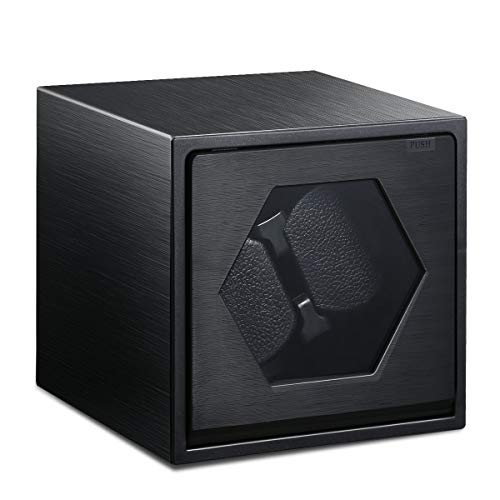 Caja Giratoria para Relojes automatico, FLOUREON Watch Winder Enrollador de...