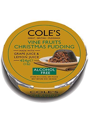 Coles Alkoholfreier Weihnachtspudding, 450 g.